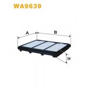 WIX FILTERS WA9639 Фильтр воздушный WP9639/AP082/8 (пр-во WIX-Filtron)