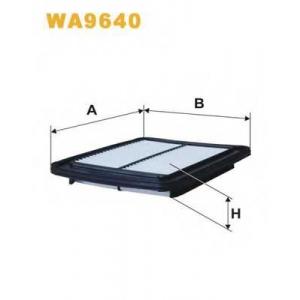 WIX FILTERS WA9640 Фильтр воздушный HYUNDAI I10 WA9640/AP107/3 (пр-во WIX-Filtron)