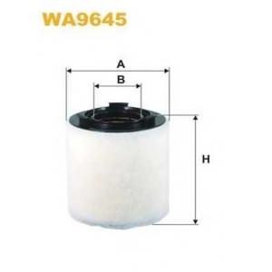 WIX FILTERS WA9645 Фильтр воздушный SKODA, VW WA9645/AK370/2 (пр-во WIX-Filtron)