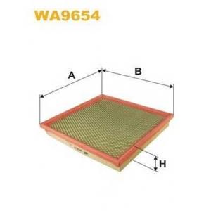 Воздушный фильтр wa9654 wix - OPEL ASTRA Sports Tourer (J) универсал 1.4