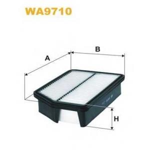 Воздушный фильтр wa9710 wix - HYUNDAI ix35 (LM) вездеход закрытый 2.0 CRDi