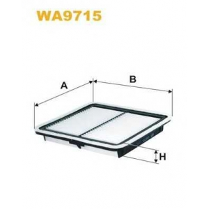 Воздушный фильтр wa9715 wix - SUBARU IMPREZA седан (GR) седан 1.5