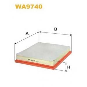 WIX FILTERS WA9740 Фильтр воздушный