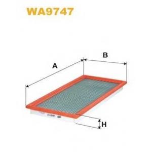 Воздушный фильтр wa9747 wix - JEEP COMPASS (MK49) вездеход закрытый 2.4 4x4