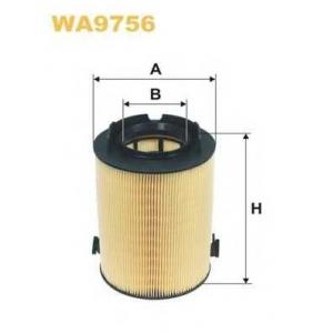 WIX FILTERS WA9756 Фильтр воздушный SEAT, SKODA, VW (пр-во WIX-Filtron)