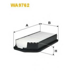 WIX FILTERS WA9762 Фильтр воздушный Hyundai i30; Kia Ceed (пр-во Wix-Filtron)
