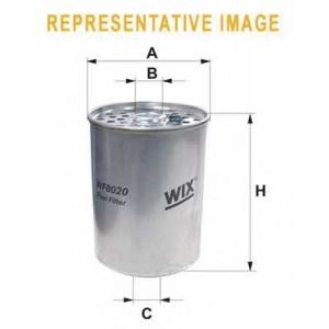 WIX FILTERS WF8020 Фильтр топл. CITROEN, PEUGEOT WF8020/PM844 (пр-во WIX-Filtron)