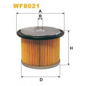 WIX FILTERS WF8021 Фильтр топл. CITROEN WF8021/PM858 (пр-во WIX-Filtron)
