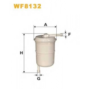 WIX FILTERS WF8132 Фильтр топл. PS847/WF8132 (пр-во WIX-Filtron)
