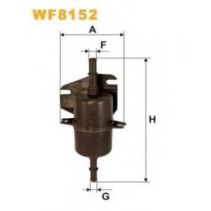WIX FILTERS WF8152 Фильтр топл. FIAT PS921/WF8152 (пр-во WIX-Filtron)