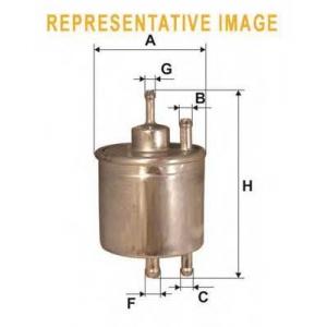 WIX FILTERS WF8175 Фильтр топл. WF8175/PP947/1 (пр-во WIX-Filtron)