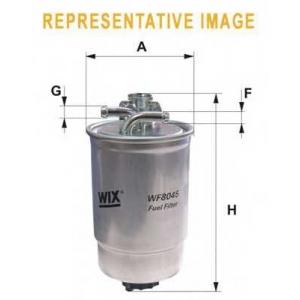 WIX FILTERS WF8180 Фильтр топл. VW T4, PASSAT WF8180/PP839/2 (пр-во WIX-Filtron)