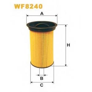WIX FILTERS WF8240 Фильтр топл. WF8240/970 (пр-во WIX-Filtron)