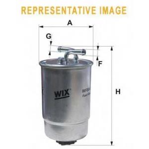 WIX FILTERS WF8263 Фильтр топливный BMW Serie 3,5, Serie X5 (E53); Landrover (пр-во WIX-Filtron)