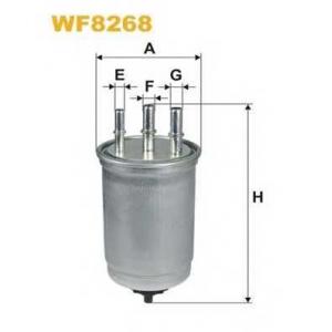 Топливный фильтр wf8268 wix - FORD MONDEO III седан (B4Y) седан 2.0 16V TDDi / TDCi