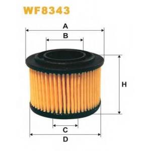 Топливный фильтр wf8343 wix -