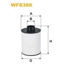 WIX FILTERS WF8366 Фильтр топл. WF8366/PE982 (пр-во WIX-Filtron)