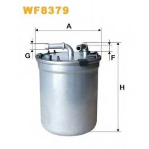 WIX FILTERS WF8379 Фильтр топливный VAG 1.4, 1.6 TDI (пр-во WIX-FILTERS)