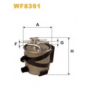 WIX FILTERS WF8391 Фильтр топл. WF8391/980/6 (пр-во WIX-Filtron)