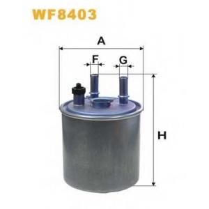 WIX FILTERS WF8403 Фильтр топл. PP988/WF8403 (пр-во WIX-Filtron)