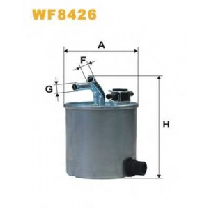 WIX FILTERS WF8426 Фильтр топл. WF8426/ PP857/6 (пр-во WIX-Filtron)