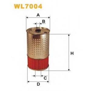 WIX FILTERS WL7004 Фильтр масляный (смен.элем.) MB 124, 202 WL7004/OC602 (пр-во WIX-Filtron)