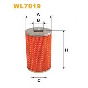 WIX FILTERS WL7019 Фильтр масляный WL7019/OM506 (пр-во WIX-Filtron)