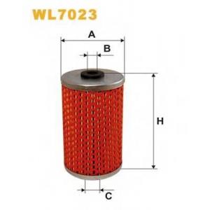 WIX FILTERS WL7023 Фильтр масляный MB WL7023/OM509 (пр-во WIX-Filtron)