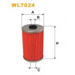 WIX FILTERS WL7024 Фильтр масляный MB W123 WL7024/OM510 (пр-во WIX-Filtron)