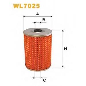 WIX FILTERS WL7025 Фильтр масляный WL7025/OM511 (пр-во WIX-Filtron)