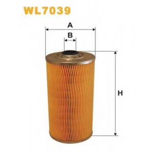 WIX FILTERS WL7039 Фильтр масляный WL7039/OM521 (пр-во WIX-Filtron)