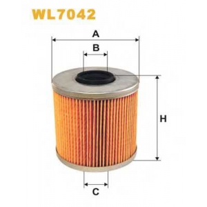 WIX WL7042 Фильтр масляный WL7042/OM523 (пр-во WIX-Filtron UA)