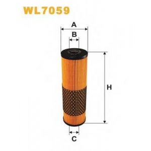 WIX FILTERS WL7059 Фильтр масляный WL7059/591 (пр-во WIX-Filtron)
