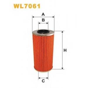 WIX WL7061 Фильтр масляный (смен.элем.) MB SPRINTER, VITO WL7061/OM610 (пр-во WIX-Filtron UA)