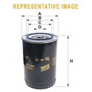 WIX WL7096 Фильтр масляный DAF (TRUCK) WL7096/OP549 (пр-во WIX-Filtron UA)