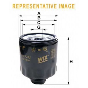 WIX FILTERS WL7133 Фильтр масляный VW T4 WL7133/OP574 (пр-во WIX-Filtron)