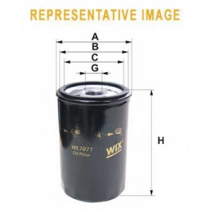 WIXFILTRON WL7172 Фільтр масляний