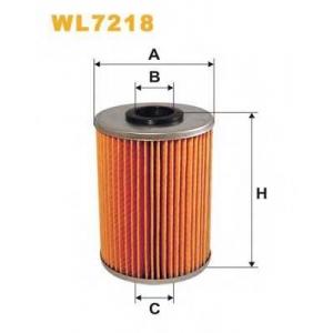 WIX WL7218 Фильтр масляный WL7218/OM522/2 (пр-во WIX-Filtron UA)