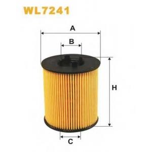 Масляный фильтр wl7241 wix - OPEL OMEGA B (25_, 26_, 27_) седан 2.5 V6