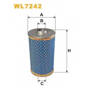 WIXFILTERS WL7242 Фiльтр масляний 517/1