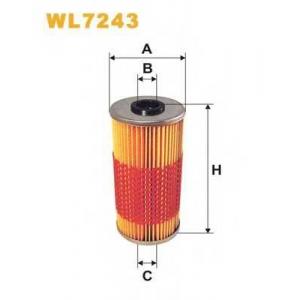 WIXFILTRON WL7243 Фільтр масляний