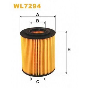 WIX FILTERS WL7294 Фильтр масляный HONDA CIVIC WL7294/OE648/4 (пр-во WIX-Filtron)