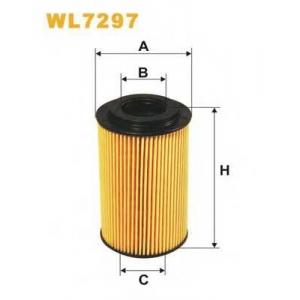 WIX FILTERS WL7297 Фильтр масляный OE664/WL7297 (пр-во WIX-Filtron)