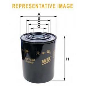 WIX WL7298 Фильтр масляный (OP 594/2)