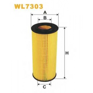 WIX FILTERS WL7303 Фильтр масляный (пр-во WIX-Filtron)