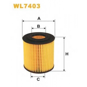 WIXFILTRON WL7403 Фільтр масляний