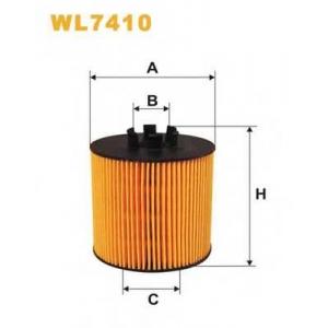 WIX FILTERS WL7410 Фильтр масляный WL7410/OE650/2 (пр-во WIX-Filtron)