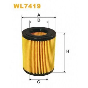 WIX FILTERS WL7419 Фильтр масляный WL7419/OE674/1 (пр-во WIX-Filtron)