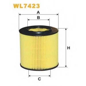 WIX FILTERS WL7423 Фильтр масляный WL7423/OE649/9 (пр-во WIX-Filtron)