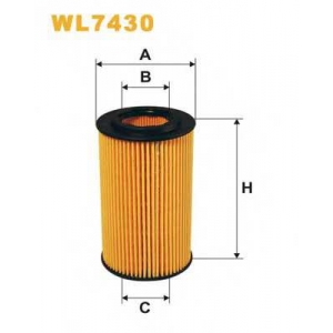 WIX FILTERS WL7430 Фильтр масл. Honda Accord VIII (03-), CR-V II, FR-V (пр-во WIX-Filtron)